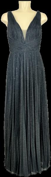Ballkleid lang in grey