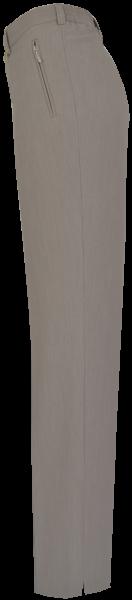 Leichte Stoffhose in beige mit dezenter Strukur