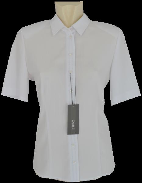 1/2 Arm Bluse in weiß