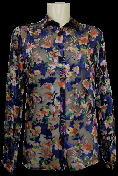 1/1 Arm Bluse in multicolor