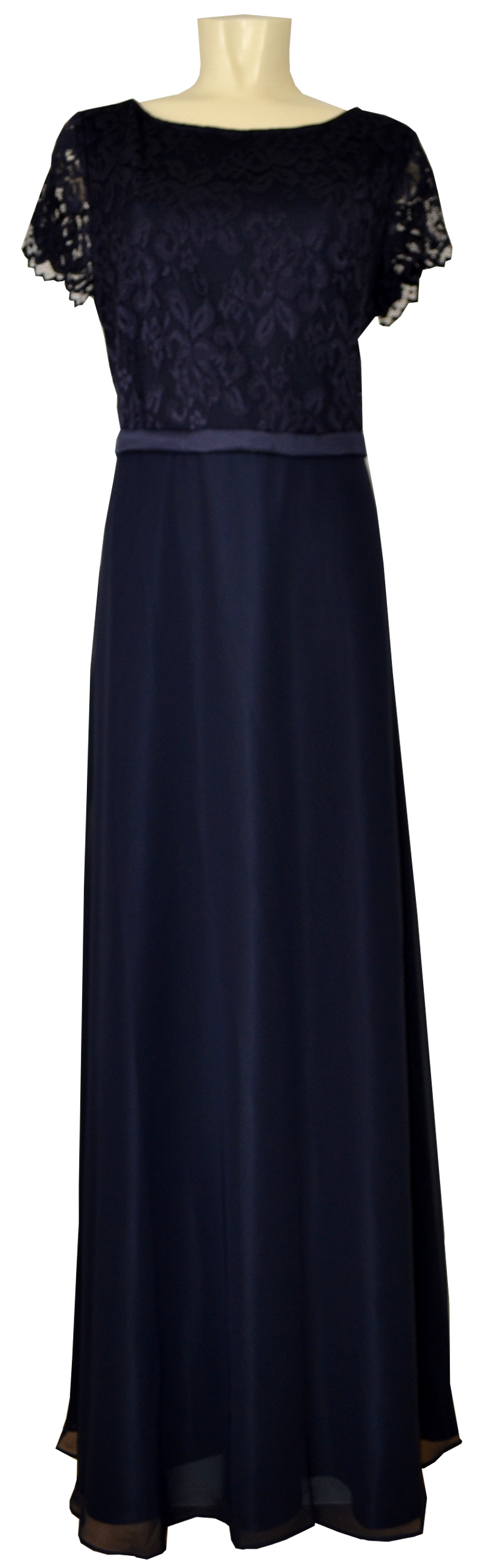 Langes Ballkleid von Vera Mont in night sky | Mode Dasenbrock