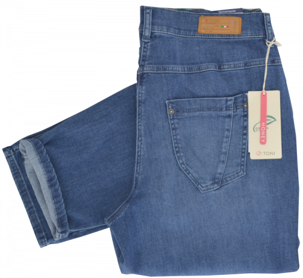 Jeans in stone blue used