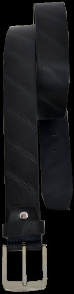 Herren Ledergürtel in schwarz