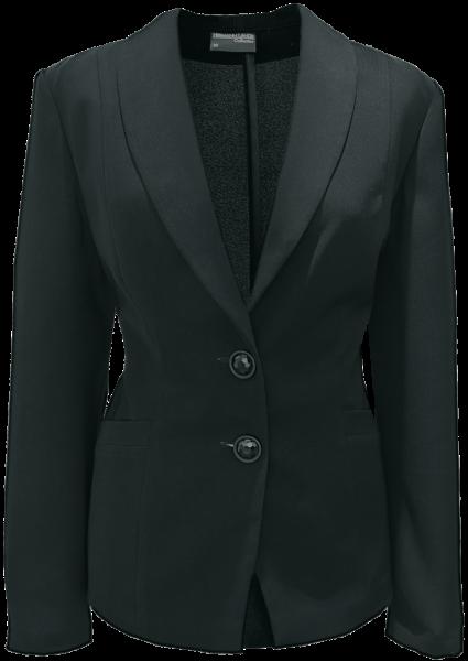 Blazer als 2-Knopf in schwarz