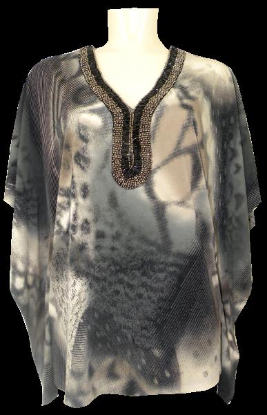 Elegantes Shirt in Allover gemustert
