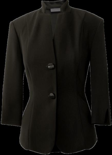 Blazer mit 3/4 Arm in schwarz