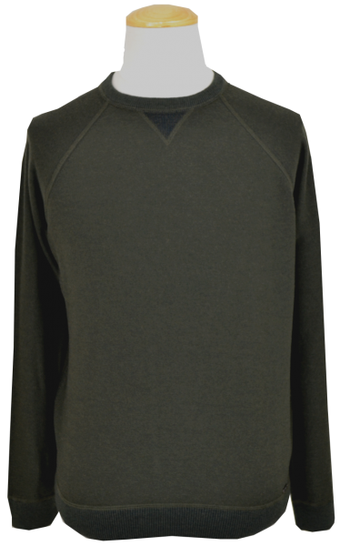 Pullover in dark green