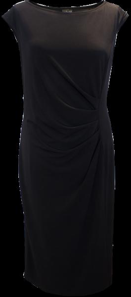 Jersey Kleid in schwarz