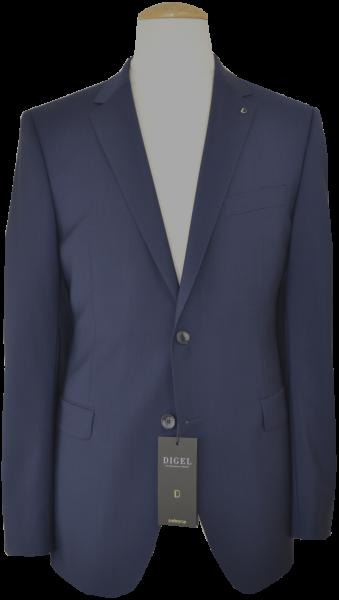 Leicht taillierter Anzug AMF-Blazer in mittel blau