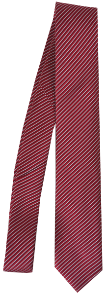 Krawatte reine Seide in rot mit diagonaler Sruktur