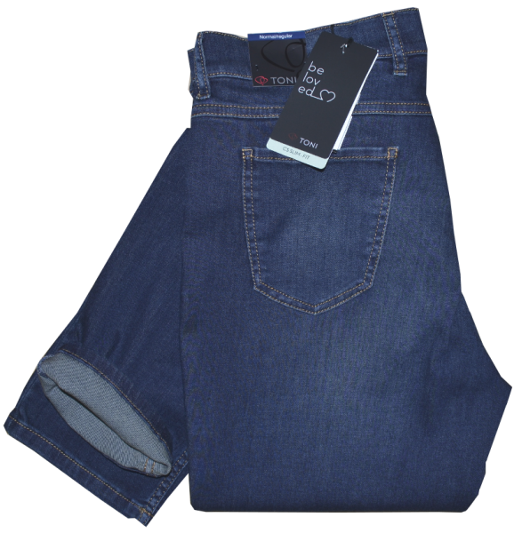 Jeans in mit blue used