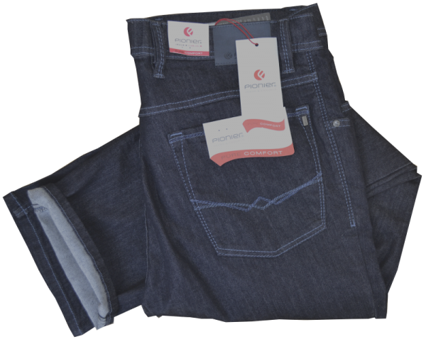 Bequeme Jeans in BLUE-BLACK