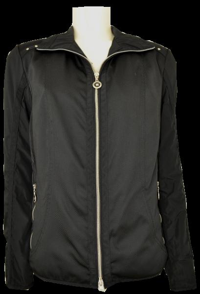 Leichte Outdoor Jacke in schwarz
