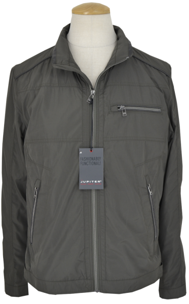 Leichte Outdoorjacke in dark-oliv-gray