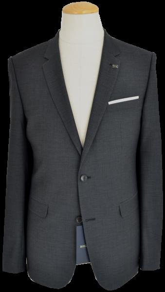Anzug Blazer EXTRA SLIM FIT in anthrazit mit Struktur