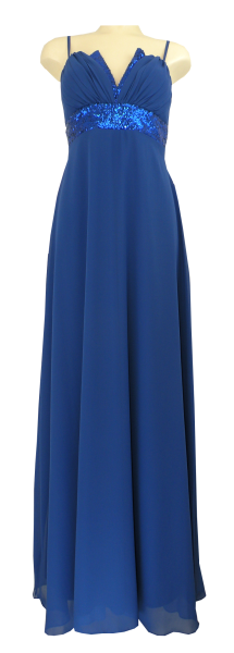 Ballkleid lang in RoyaL Blau