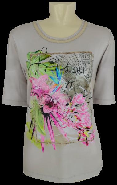 1/2 Arm Shirt mit modischem Print