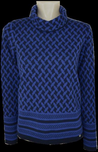 1/1 Arm Pullover mit Glanz Effekt