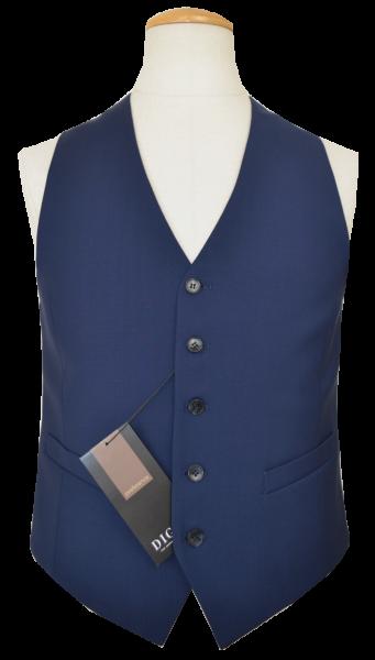 Anzugweste mit normaler Passform in dunkel blau