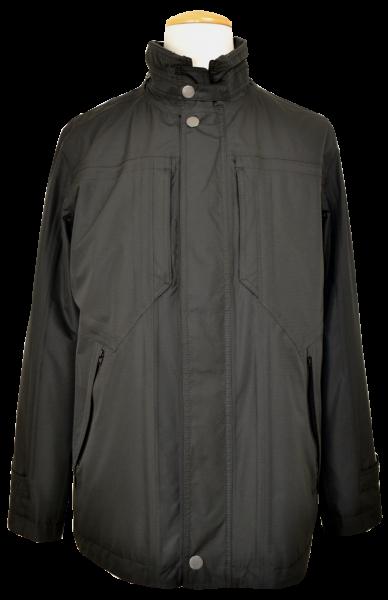 Leichte Jacke mit Funktion in schwarz