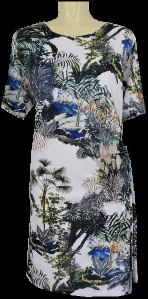 Sommerliches Kleid mit floralem Druck