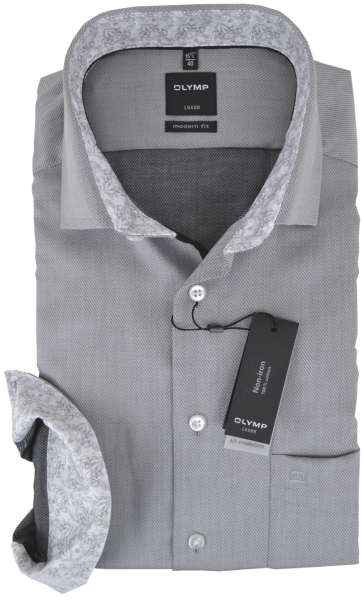 Business -und Freizeithemd in grau
