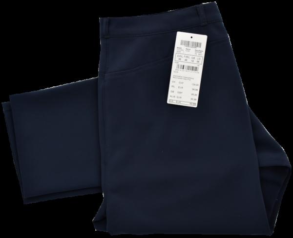 Dunkel blaue Stoffhose