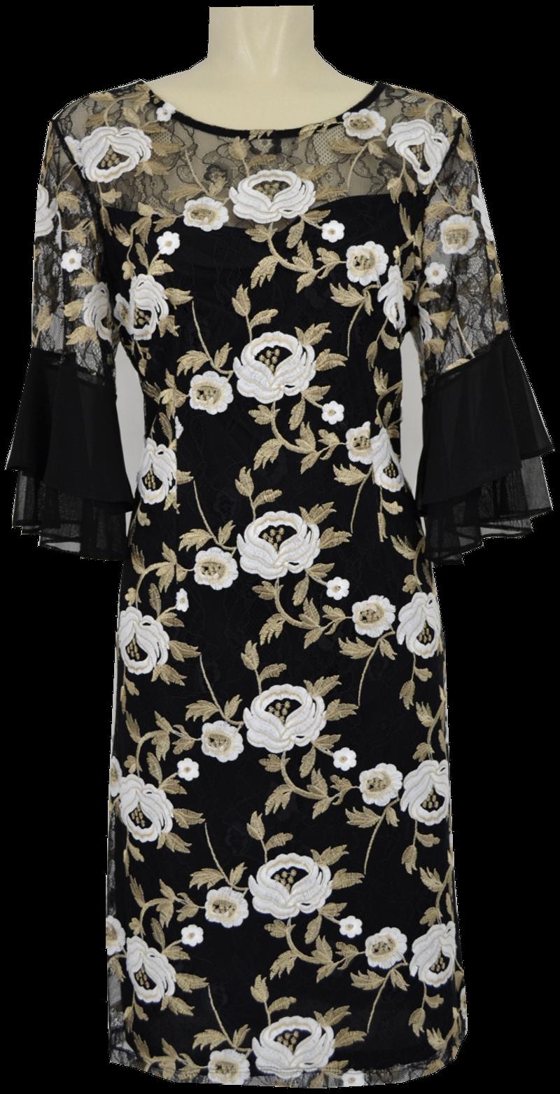 Kleid Von Lyman Mit Spitze Und Dezentem Glanz Mode Dasenbrock