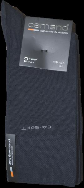 Socken in dunkel blau