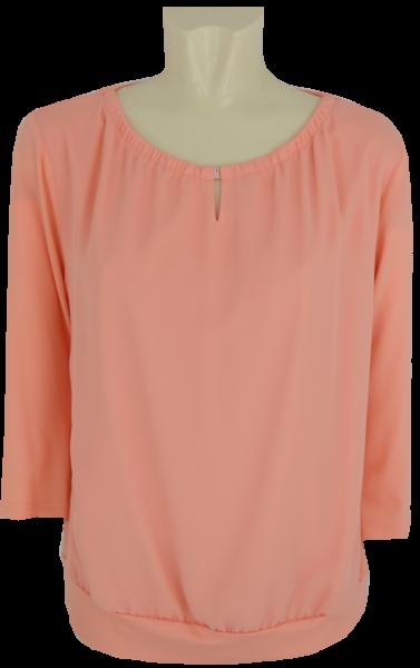 3/4 Arm Shirt in uni peach