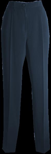 Schmale Hose in marine blau