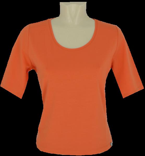 1/2 Arm T-Shirt in uni mandarin