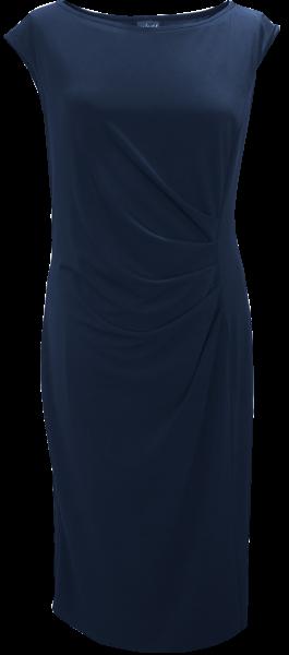 Jersey Kleid in marine blau