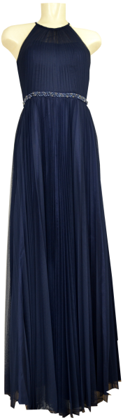 Langes Ballkleid in stormy blue