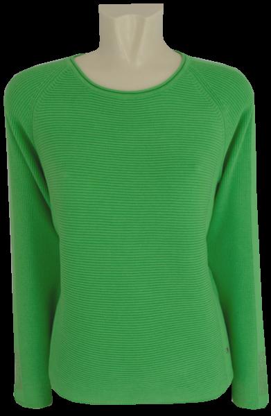 Pullover in grasgrün