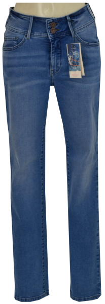 JEANS PAT in Summer used Blue