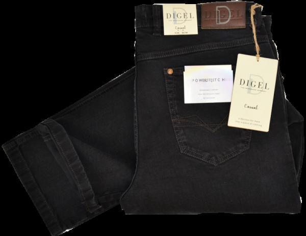 CASUAL Denim Jeans in schwarz
