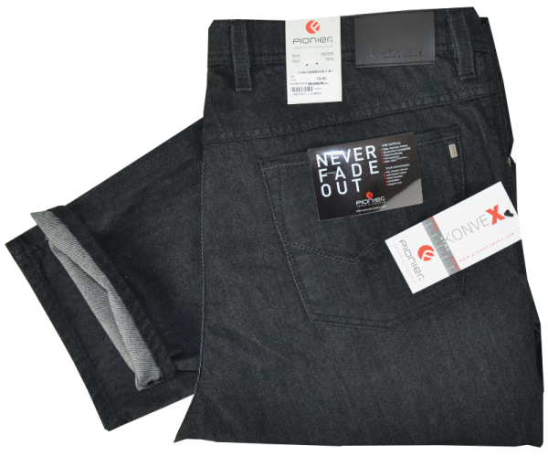 Bequeme Jeans in Anthra
