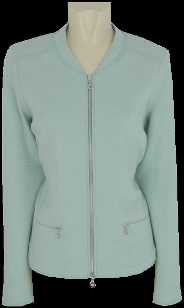 Jersey Blazer-Jacke in light mint