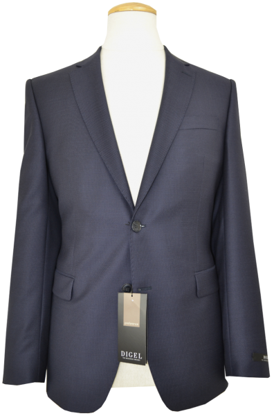 Anzug Blazer in dunkel Blau mit feiner Körnung