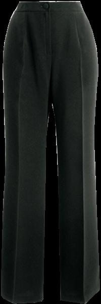 Schwarze Hose in Kurzgröße