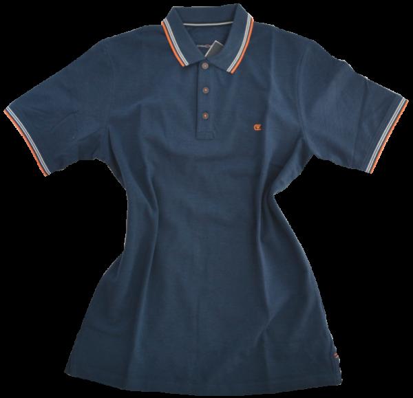 1/2 Arm Poloshirt in dunkel blau