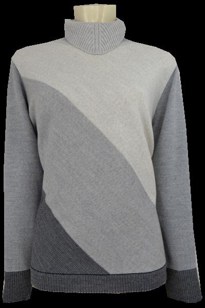 Pullover mit bequemem Umschlagkragen