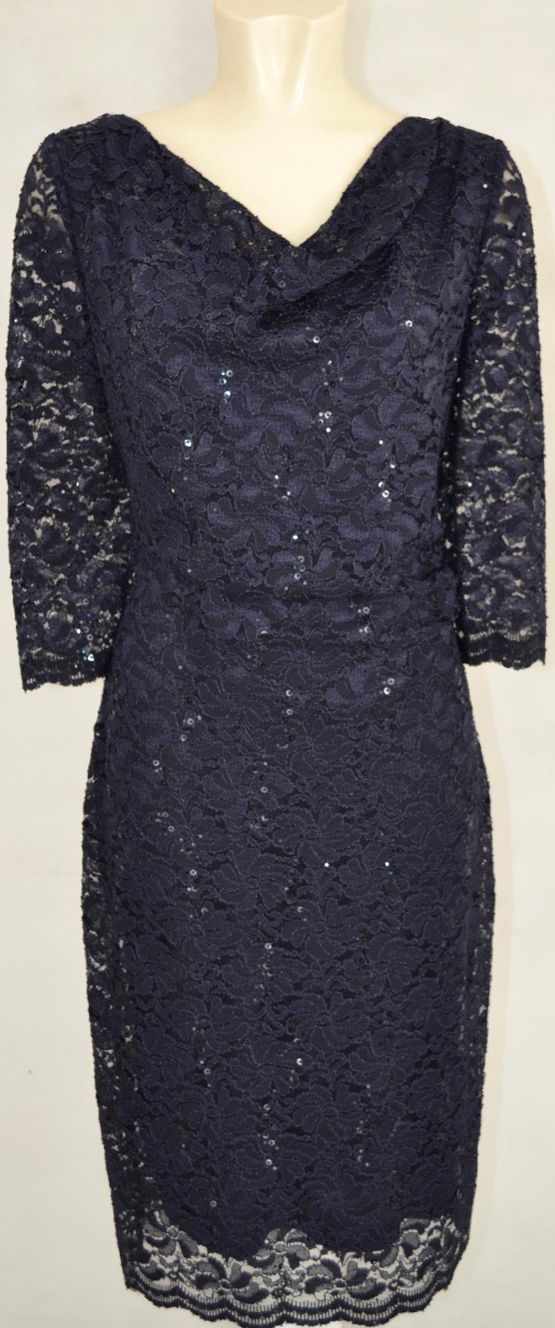Mittellanges Abendkleid von Vera Mont in night sky | Mode ...