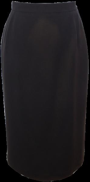 Schmaler Rock in schwarz