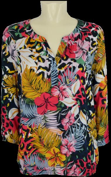 3/4 Arm Blusen Shirt