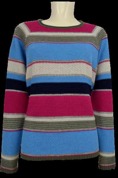 Pullover in mehrfarbig gemustert