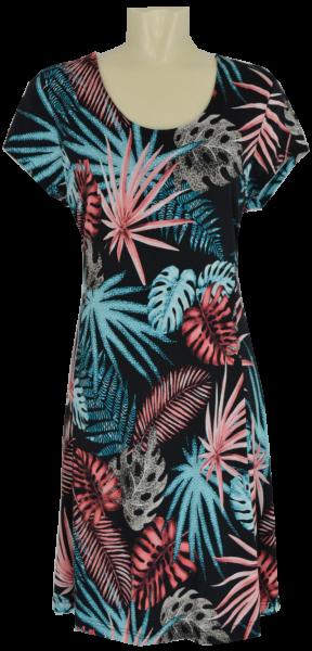 Sommerliches Kleid mit floralem Print