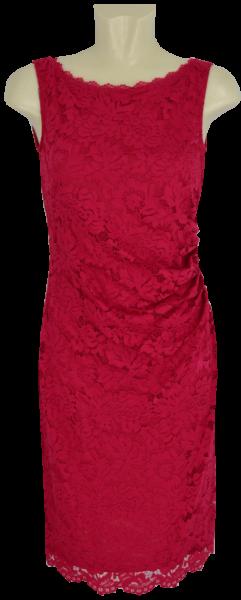 Mittellanges Kleid in persian red