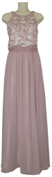 Ballkleid lang in pale mauve